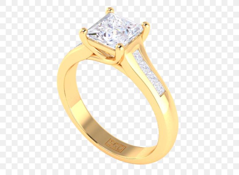 Ring Body Jewellery Platinum Diamond