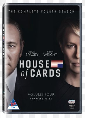 Season 4 Blu-ray Disc Francis Underwood DVD Television ShowDvd - House Of Cards PNG