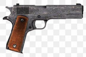 Hand Gun - Fallout: New Vegas Springfield Armory CZ 75 .45 ACP Pistol PNG