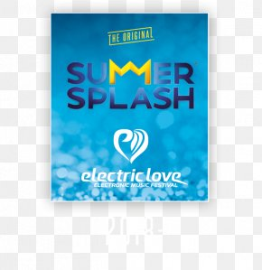 Summer Splash - Electric Love Festival Brand Logo Font PNG