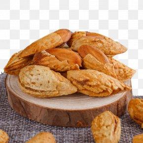 Almond Wood On - Junk Food Cookie Biscuit PNG