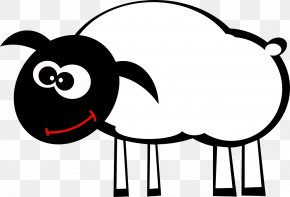 Sheep Suede Coat - Sheep Cattle Goat Grazing Clip Art PNG