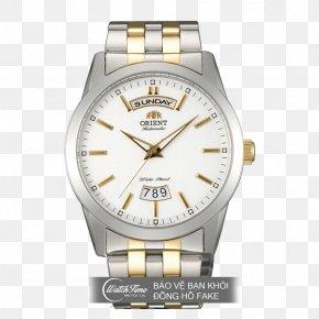 Watch - Orient Watch Clock Bracelet Steel PNG