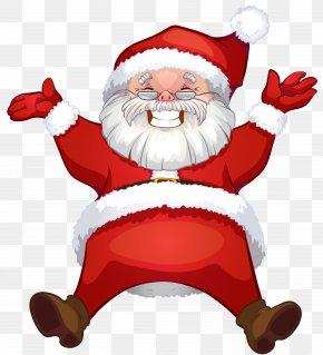 Transparent Santa Claus Clipart - Santa Claus Rudolph Mrs. Claus Clip Art PNG