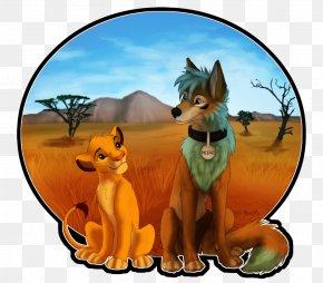 Lion - Red Fox Lion DeviantArt Dog PNG