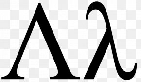 Lambda - Lambda Calculus Anonymous Function Symbol Greek Alphabet PNG