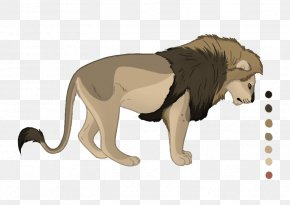 Lion - Lion Cat Terrestrial Animal Fauna Wildlife PNG