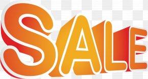 Orange ThreeDimensional Discount Art Word - Art Euclidean Vector PNG
