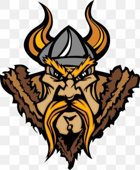 Vikings Head - Viking Cartoon Illustration PNG