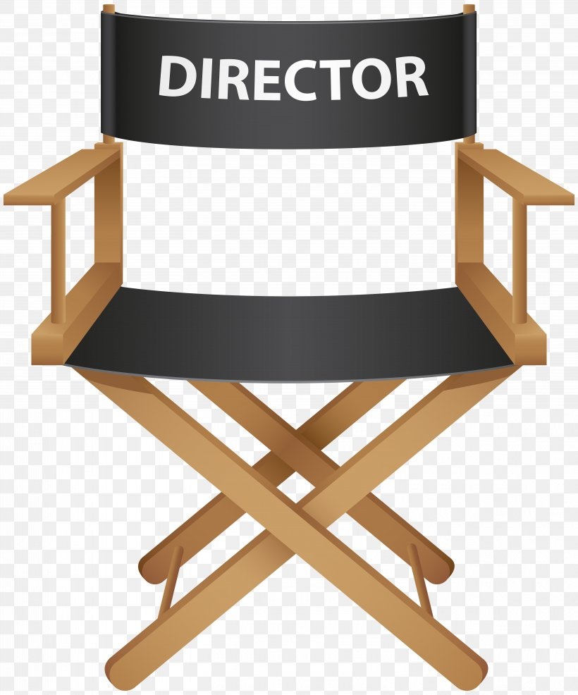 Chair Film Director Royalty Free Png