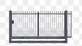 Gate - Gate Wrought Iron Galvanization Steel PNG