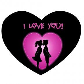 Heart Pic Love You - I Love You Desktop Wallpaper Heart PNG