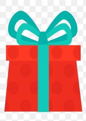 Red Cartoon Gift Box - Gift Cartoon PNG