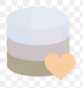 Beige Cylinder - Database Icon Server Icon Interaction Assets Icon PNG