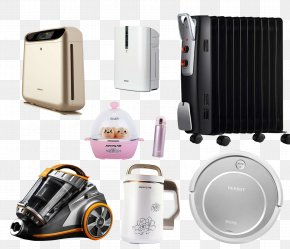 A Bunch Of Digital Home Appliances - Home Appliance Toaster Computer File PNG