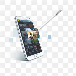 Samsung - Samsung Galaxy Note II Android Lollipop Phablet PNG