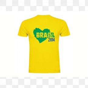 T-shirt - 2018 FIFA World Cup Brazil National Football Team T-shirt 2010 FIFA World Cup PNG