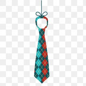 Plaid Tie - Download Computer File PNG