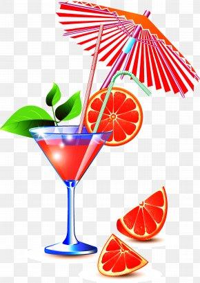 Cocktail - Grapefruit Photography Clip Art PNG