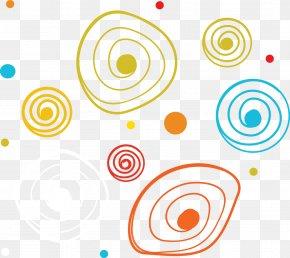 Spiral Circle Color Shading - Circle Spiral PNG