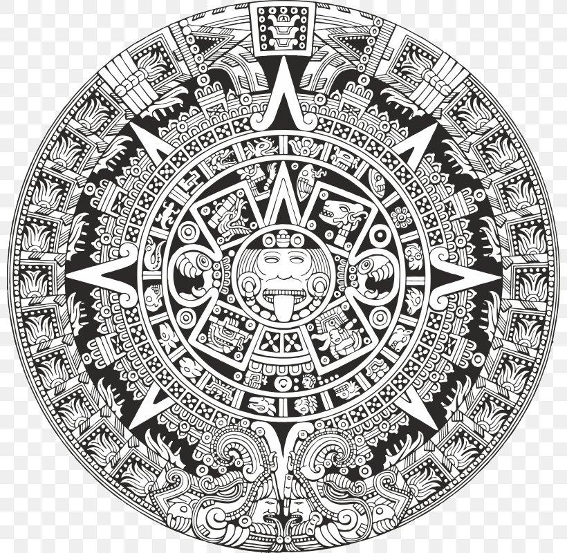 aztec calendar png aztec calendar stone mesoamerica maya civilization, png