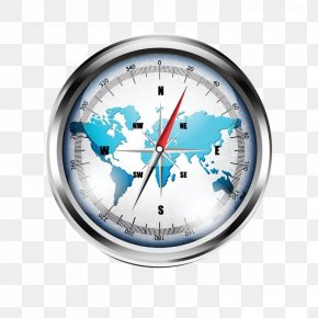 World Map Compass - Compass Map Raster Graphics Clip Art PNG
