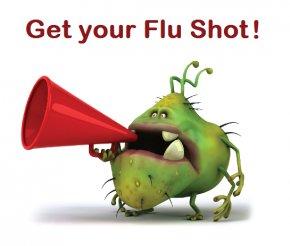Flu Bug Cliparts - Influenza Vaccine Flu Season Clip Art PNG