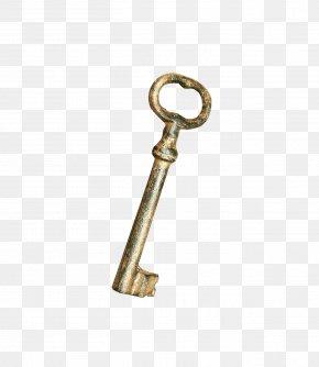 Golden Key - Key PNG