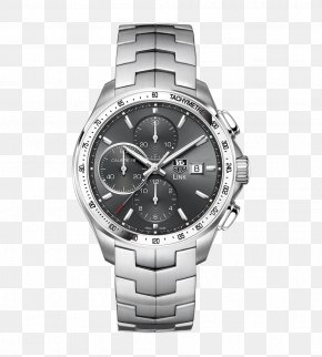Tag Heuer Watch Silver Wristwatch Male Watch - Omega Speedmaster TAG Heuer Watch Chronograph Rolex PNG