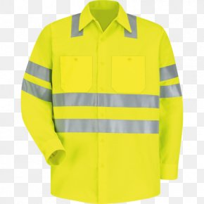 T-shirt - T-shirt High-visibility Clothing Workwear PNG