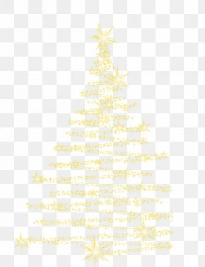 Star Tree - Christmas Tree Spruce Fir Christmas Ornament Pattern PNG