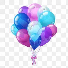Hot Air Ballooning Heart - Eid Mubarak Graphic Design PNG