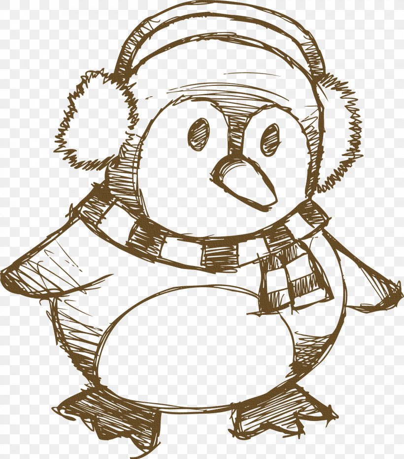penguin drawing christmas reindeer png 1681x1908px penguin art artwork black and white christmas download free penguin drawing christmas reindeer png