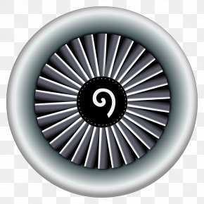 Engine - Airplane Aircraft Jet Engine Clip Art PNG