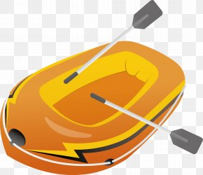 Rowing Vector Material - Canoe Watercraft Rowing PNG