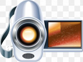 Creative Camera - Home Appliance Adobe Illustrator Icon PNG