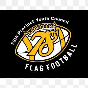 Football Flags - 78th Precinct Flag Football Softball American Football Logo PNG