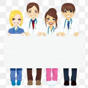 Doctors - Physician Cartoon Clip Art PNG