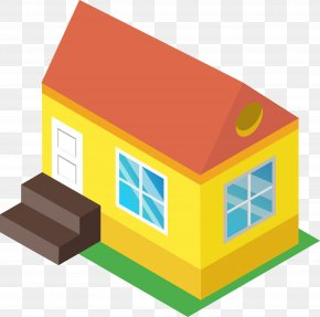 Red Roof Cabin - House Renting Building Home Dwelling PNG