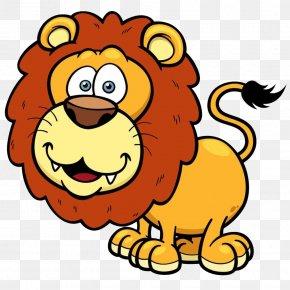 Cute Cartoon Lion - Lion Giraffe Cartoon Cuteness PNG