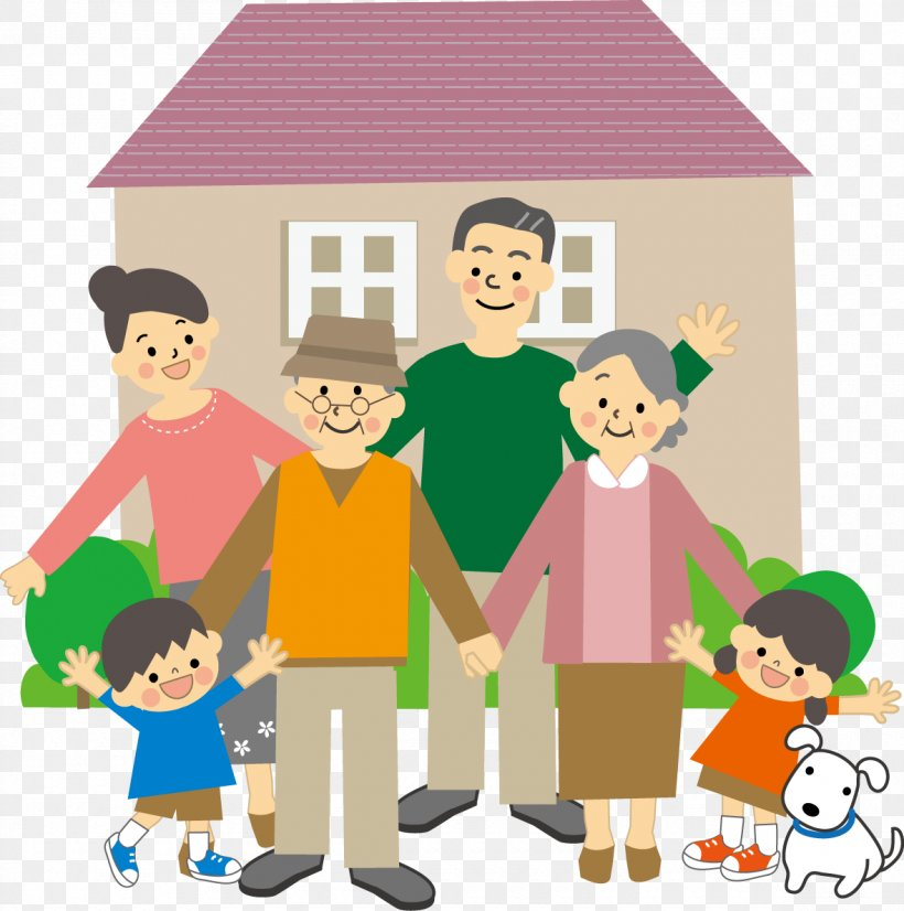 Family House Child Dementia Illustration, PNG, 1180x1190px, Family, Art, Cartoon, Child, Communication Download Free