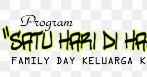 Family Day - Satu Hari Di Hari Raya Logo FYI Brand Sense PNG