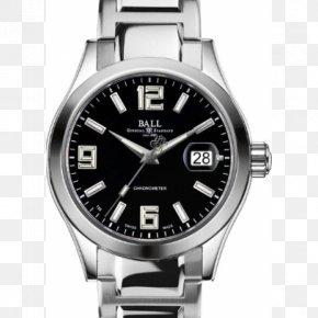 Watch - BALL Watch Company COSC Chronometer Watch Automatic Watch PNG
