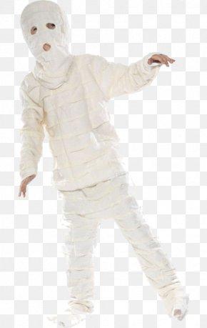 Mummy Halloween Costume - Human Halloween Costume Child Mummy PNG