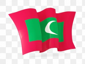 Maldives Flags Fluttering - Flag Of The Maldives PNG