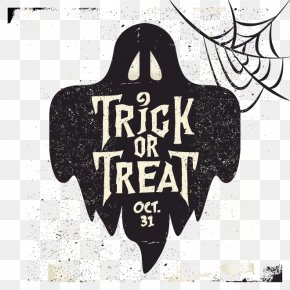 Vector Halloween Ghosts - Halloween Ghost Trick-or-treating PNG
