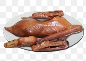 A Goose - Domestic Goose Duck Roasting Game PNG