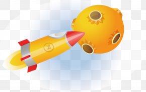 Satellite Rocket - Planet Icon PNG