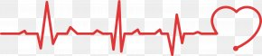 Public Welfare Heartbeat Line - Heart Rate Electrocardiography Pulse Find&Save PNG
