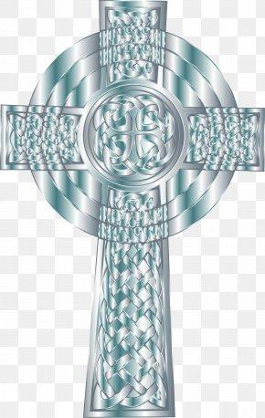 Aqua Cross Cliparts - Celtic Cross Christian Cross Clip Art PNG